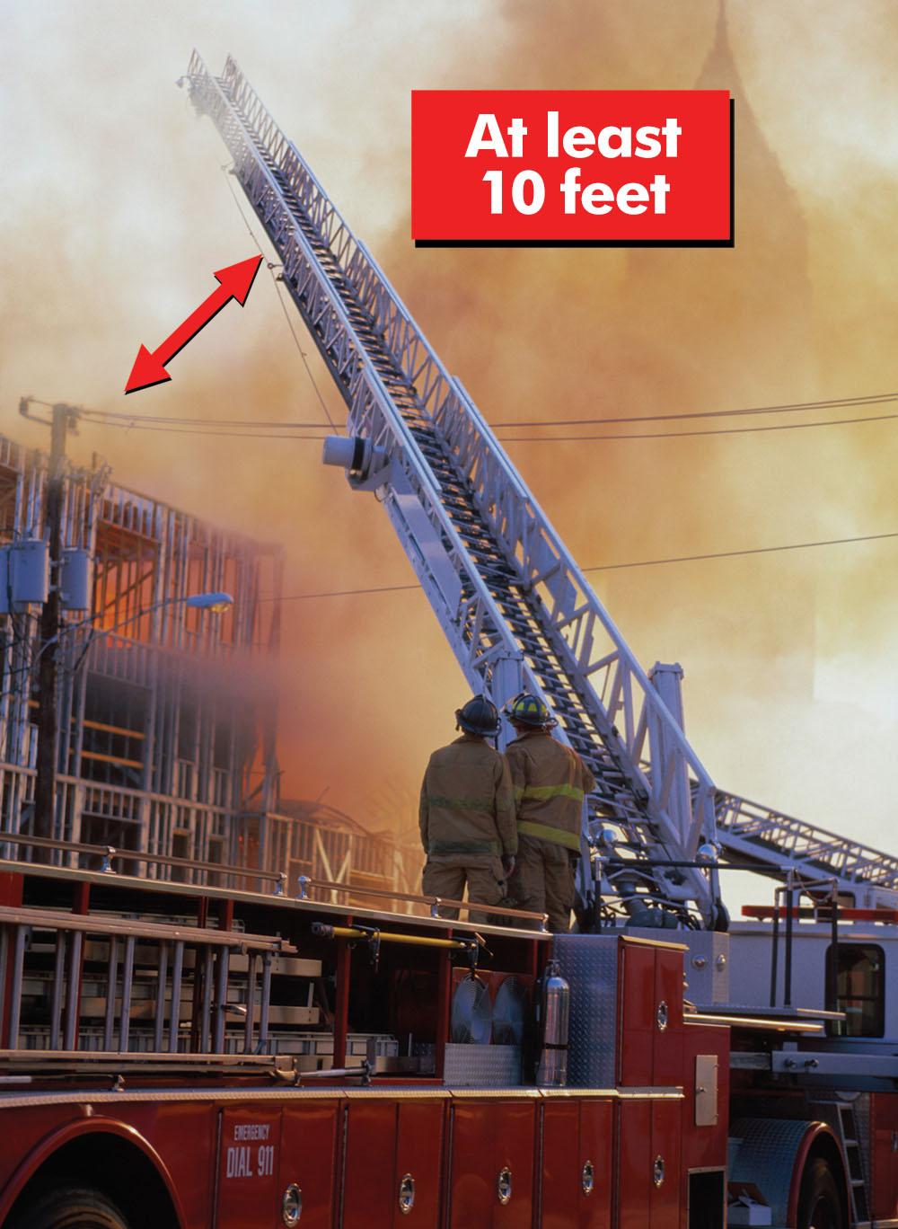 FR 10 Foot Fire Ladder